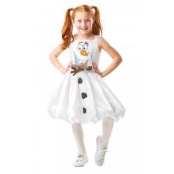 Dětský kostým Olaf šaty Frozen II