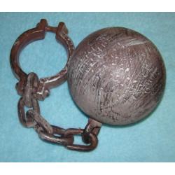 Koule s řetězem