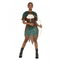 Kostým Lesní bojovnice