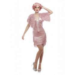 Kostým Pink Flapper