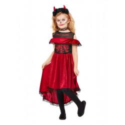 Dětský kostým Day of the dead čertice