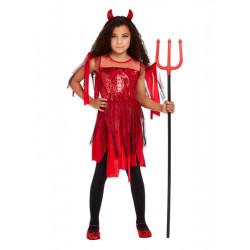Dětský kostým Čertice