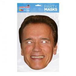 Papírová maska Arnold Schwarznegger