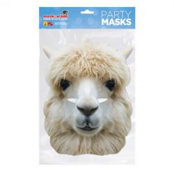 Papírová maska Alpaka