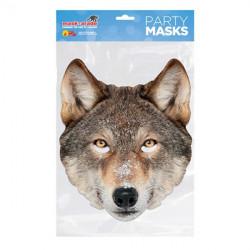 Papírová maska Vlk
