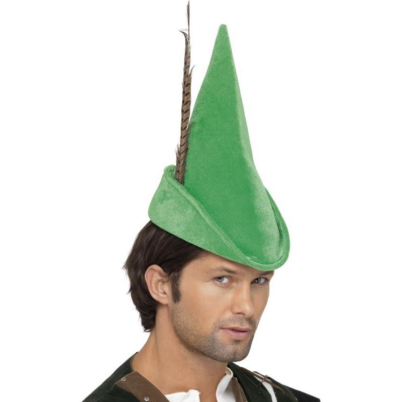 Klobouk Robin Hood deluxe