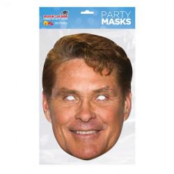 Papírová maska David Hasselhoff