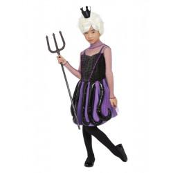 Dětský kostým Podmořská čarodějnice