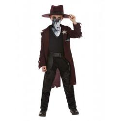 Dětský kostým Temný kovboj