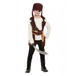 Dětský kostým Temný pirát