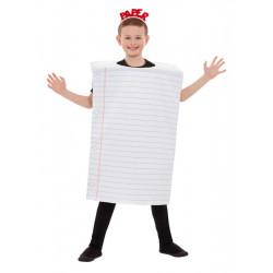 Dětský kostým Papír