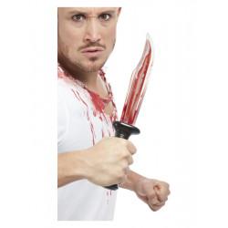 Nůž s krví