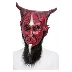 Maska Čert s kozí bradkou