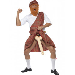 Kostým Well hung highlander