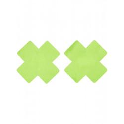 Lepítka na bradavky zelený kříž