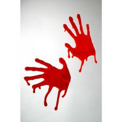 Krvavé otisky rukou