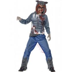 Dětský kostým Zombie vlk