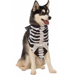 Kostým pro pejska šátek s kostrou