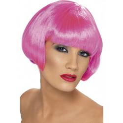 Paruka Babe neon růžová