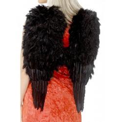 Křídla péřová černá 50 x 60 cm