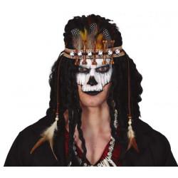Maska Voodoo čelenka