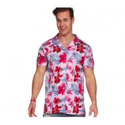 Kostým Havajská košile plaměňák