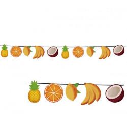 Papírová girlanda ovoce