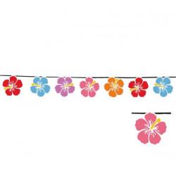 Papírová girlanda květy