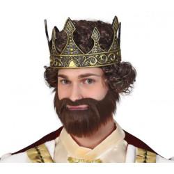 Latexová královská koruna