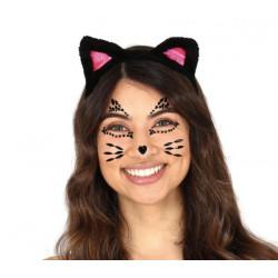 Kamínky na obličej Kočka