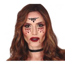 Kamínky na obličej Vampír