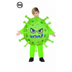 Dětský kostým Covid nafukovací