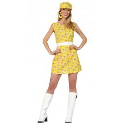 Kostým Dívka z 60. let