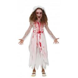 Dětský kostým Krvavá nevěsta