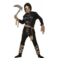 Dětský kostým Ninja duch