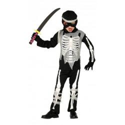 Dětský kostým Ninja kostlivec