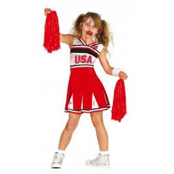 Dětský kostým Zombie cheerleadeer
