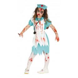 Dětský kostým Zombie sestřička