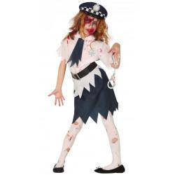 Dětský kostým Zombie policistka