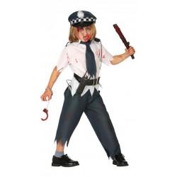 Dětský kostým Zombie policista