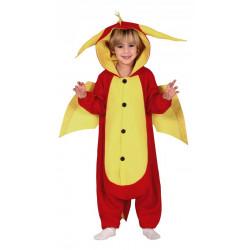Dětský kostým Drak červený