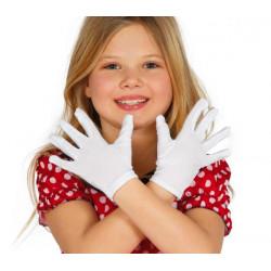 Rukavice dětské bílé