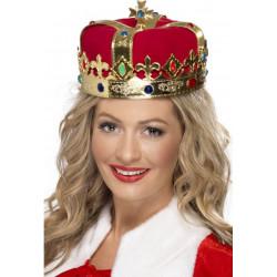 Koruna pro královnu zlaté PVC