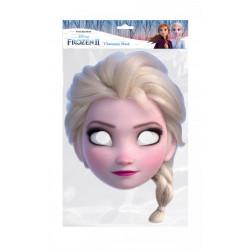 Papírová maska Princezna Elsa