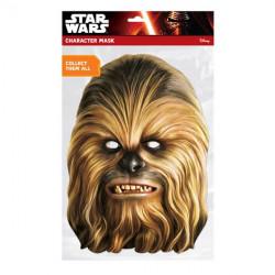 Papírová maska Chewbacca