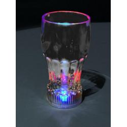 Plastová blikací sklenice