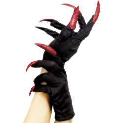 Rukavice červené nehty 2. jakost