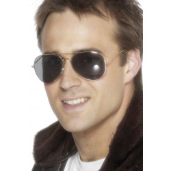 Brýle Letec zlaté oboučky