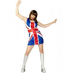 Kostým Britská vlajka