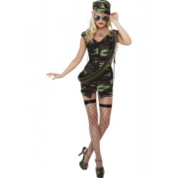 Kostým Válečná vesnická dívka